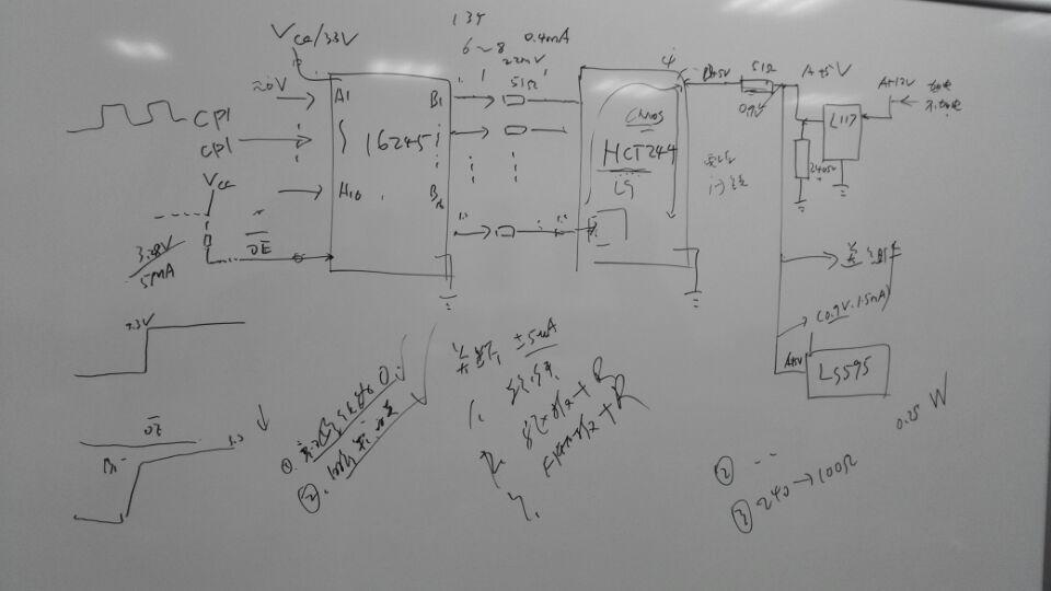 """在设计中我们用FPGA驱动探测器。SN74LVTH16245用在FPGA板上,<a href=""""http://www.ti.com.cn/product/cn/SN74HCT244"""" target=""""extwin"""">SN74HCT244</a>用在探测器板上,分别作为信号缓冲器,两者之间信号用51Ω电阻隔开。如下图示。</p> <p><a href=""""/cfs-file."""