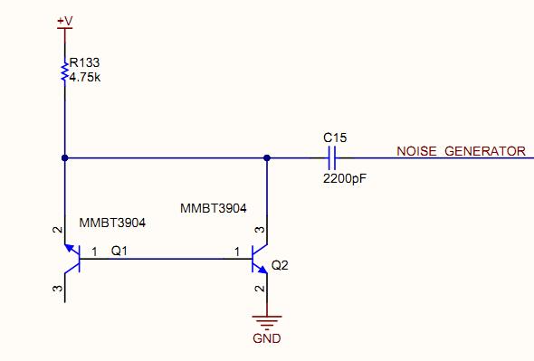 这个噪声信号产生电路是如何工作的?