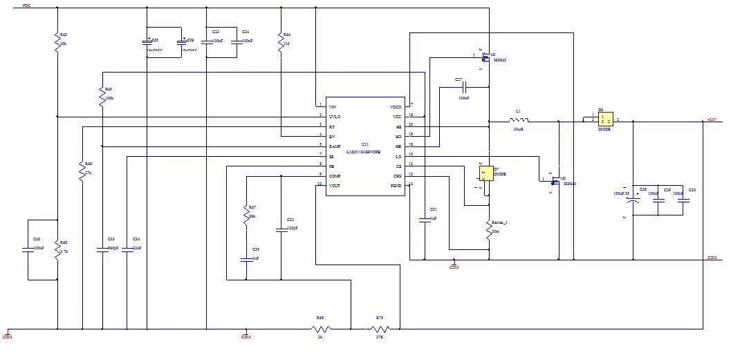 我用lm25118做buck-boost电路
