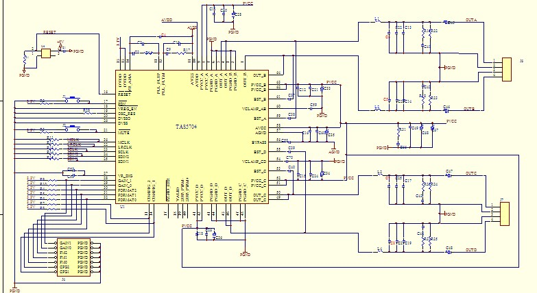 静电扬声器功放电路