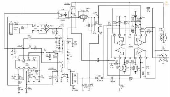 uc3842+lm324电动车充电器----烧坏开关管?