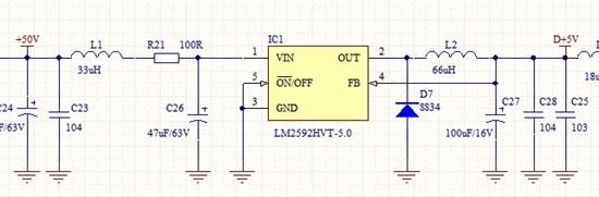 出货后发现该电源芯片输出5v电压不稳定,进一步导致单片机等电路损坏