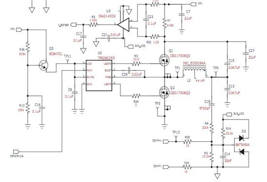 "<p>驱动芯片<a href=""http://www.ti.com.cn/product/cn/TPS28225"" target=""extwin"">TPS28225</a>的3脚PWM输入PWM波形,测得输出波形,CH1:PWM波,CH3:Ugate,CH4:Lgate。UGATE高电平时的电压值24V左右,Lgate的高电平时的电压值6.7V左右。这两个门电压值跟什么因素有关,是如何得出的?为什么不一样?请专家指导一下,谢谢。</p"