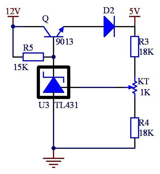 电路 电路图 电子 原理图 550_597