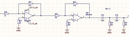 电荷灵敏放大器 - 放大器