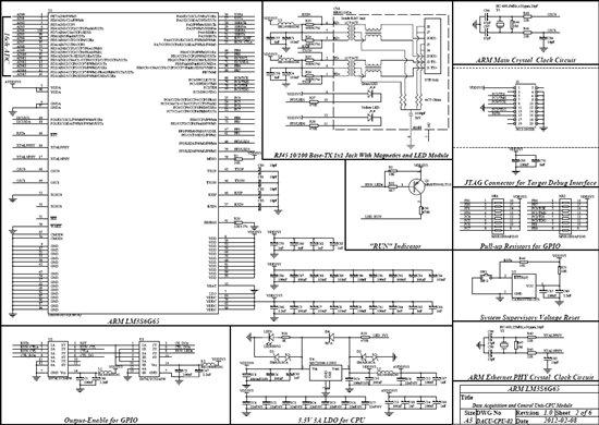 lm3s6g65以太网接口电路可以使用汉仁电子hr911105a
