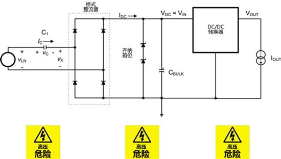 用于轻负载应用的电容压降离线电源使一切变得简单