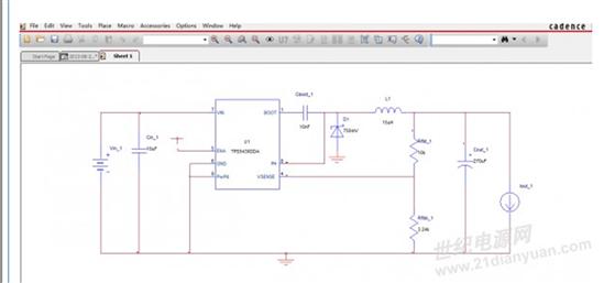 tps5430的应用电路