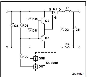 uc3909 pmos驱动电路