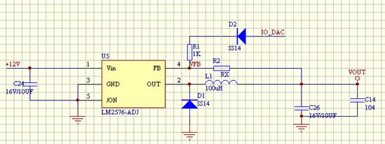 dac为0时输出电压最高