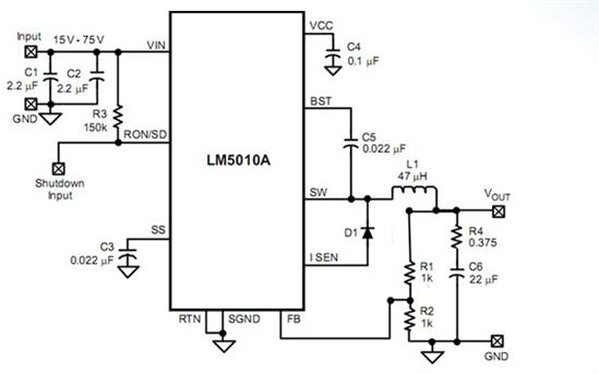 降压模块其输出电压波形