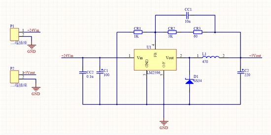lm2596输出电压不对