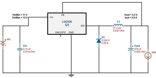 【原创】+dcdc转换器lm2596使用经验分享