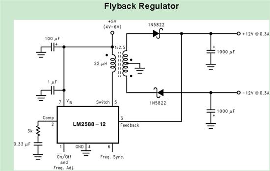 TI专家,您好 TI的TPS40210这款芯片方案中有20~30V转100V/280mA的方案:http://www.ti.com.cn/tool/cn/pmp8913 我想请问一下是否可以修改一下方案电路,使得输出-100V/280mA(输出负100V)。 本人对设计电源没有经验,在网上看到一些开关电源的设计资料(如下图)。把电感的位置换一下就可以得到负压???如果真是这样,20~30V转100V/280mA的方案中只要改变一下电感L1的位置就可以了吗? 公司现在需要设计一块24VCDC或12VDC转+