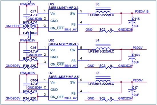 7uf 10v 10% x5r 0603 瓷片电容 输出电容(c115):   cap cer 10uf 16v