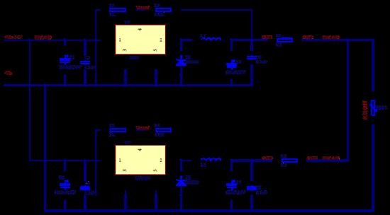 从而控制输出两个dcdc模块的输出电压大小, 但是当我从324外围电路的