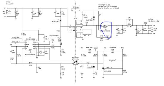 """需要做一个隔离多输出的电源,要求输入9~36V,输出5V/1A 、12V/0.4A 、 -12V/0.4A。 在<span>webench中查找只有<a href=""""http://www.ti.com.cn/product/cn/LM2587"""" target=""""extwin"""">LM2587</a>一个方案,但由于工作环境温最高有85度左右,<a href=""""http://www."""