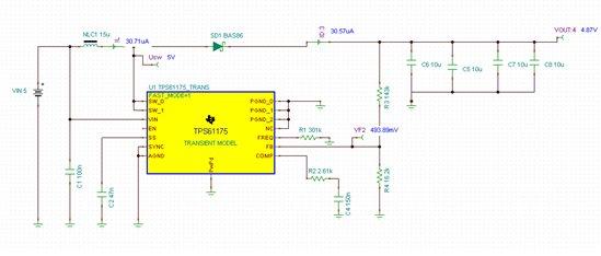 技术论坛 模拟与混合信号 电源管理 tps61175输入输出电压一样