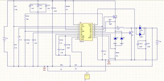用webench设计lm5118电路