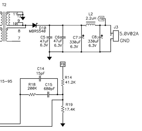 tps23750隔离电源变压器后端电路作用