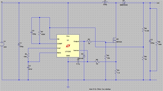 5v2a的输出电路图