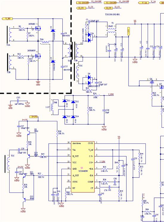 uc2846开关电源电路图