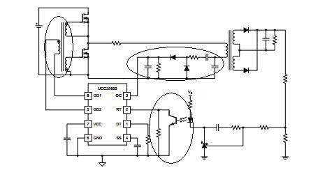 就是驱动电路的设计,从上图中