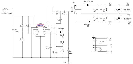 应用cot与flybucktm技术的低成本小功率辅助隔离电源解决方案
