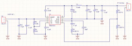 tps54331电源模块