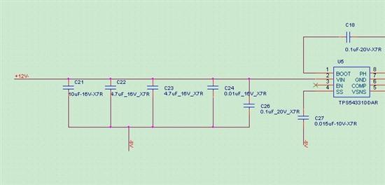 电源芯片输出纹波不一样