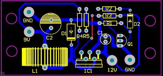 下面是整个电路设计的原理图,pcb图,实物图,在本文的最后,会把这次