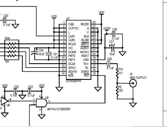 音频平衡输入电路图