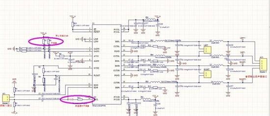 前两天发过帖子咨询过TPA31102D2 音频无输出的问题,经排查确定是LC滤波这部分短路导致IC保护,去掉后面LC电路,音质很好,在音频信号输入的话就算是很低的声音,也几乎听不见噪声(丝丝声)。但是当我断掉音频输入信号,特别是将耳机输入音频线从pc拔掉,噪音很明显;如果将音频接入线(我的耳机线)插在pc机上仅关掉音频输出,丝丝声稍微小些。</p> <p>现在想加上LC滤波器应该会有改善吧,但是接上短路,是不是我电感饱和电流过小?但是电感饱和电流过小怎么会导致短路呢 求解答</p>