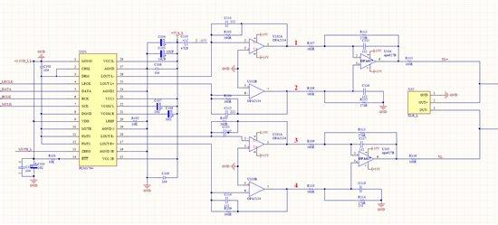 模拟与混合信号 音频 关于i/v电路的疑问,请教一下  如上图所示,pcm