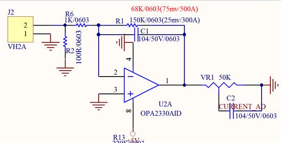 单片机数字电流表在profe接线图