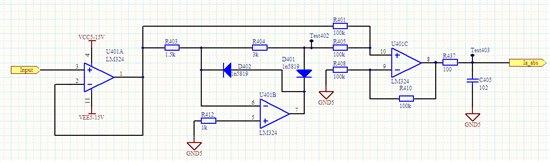 lm358构成的同相跟随电路