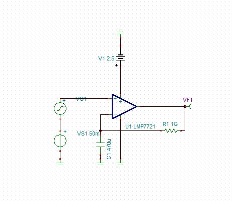 技术论坛 模拟与混合信号 放大器 如何在tina-ti中仿真测试放大器的开