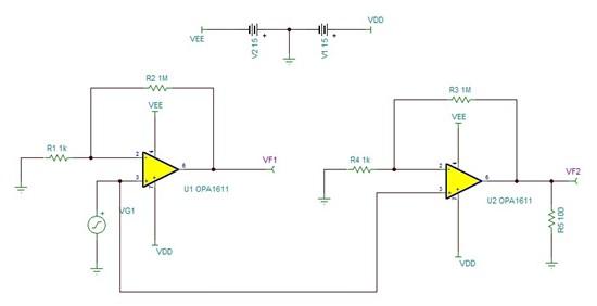 模拟与混合信号 放大器 opa1611 开环输出阻抗  最近在看运放稳定性文