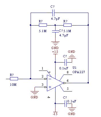 一个滤波器电路