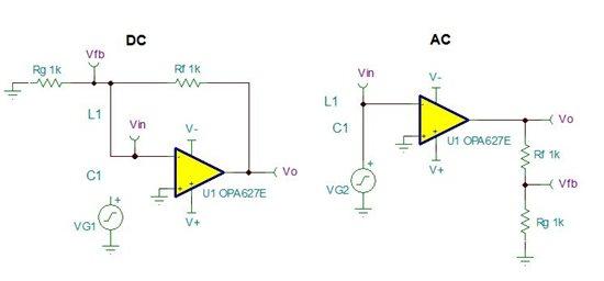 但分析时是用反相输入的电路
