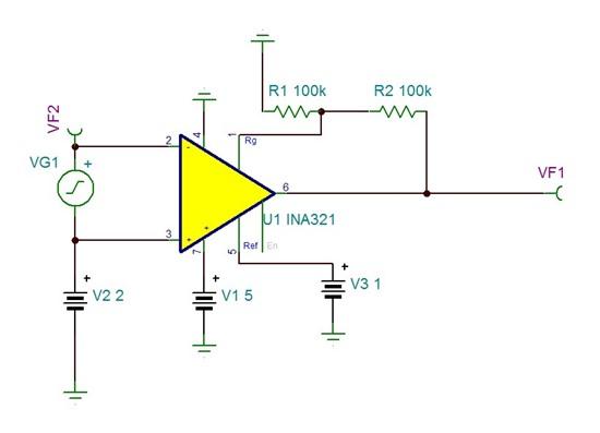 和交流信号 叠加  (2)在tina中