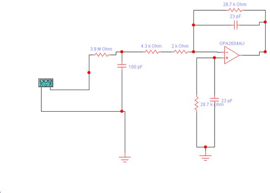 输入信号经过rc低通滤波器后有