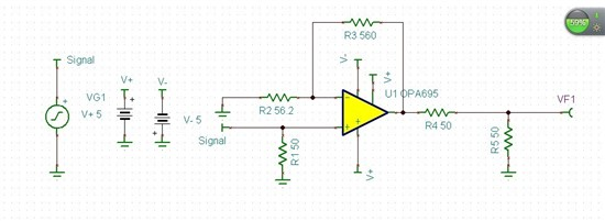 usb信号放大器电路图