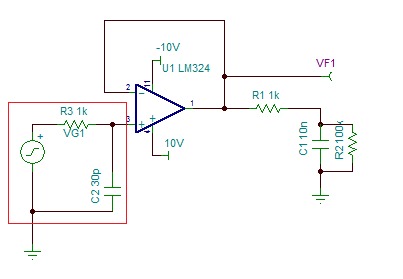 电压跟随器 减小相位延迟