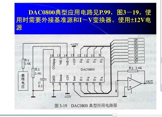 我照着网上的程序写,为什么输出电压总是0呢,这是我的电路图,是不是