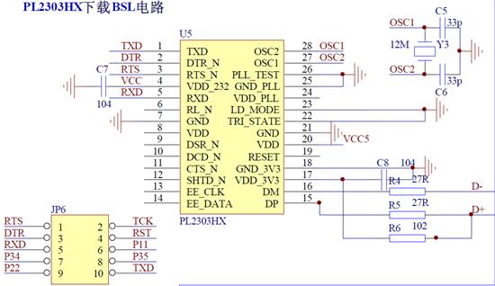 msp43016 位超低功耗 mcu