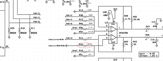 电流检测的运放处理部分的疑惑