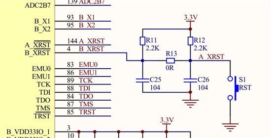 我的复位电路原理图