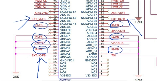 drv8301 revd电路原理图的疑问