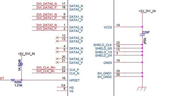 ddc通道与eeprom的i2c电路图